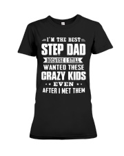 I'm The Best Step Dad Premium Fit Ladies Tee thumbnail