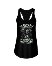 I WAS BORN IN JANUARY Ladies Flowy Tank thumbnail