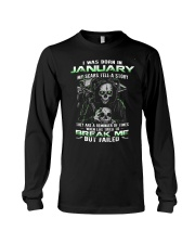 I WAS BORN IN JANUARY Long Sleeve Tee tile