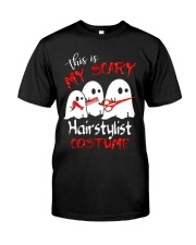My scary Hairstylist costume Premium Fit Mens Tee front