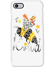 BEE KIND FLORAL BEE Phone Case thumbnail
