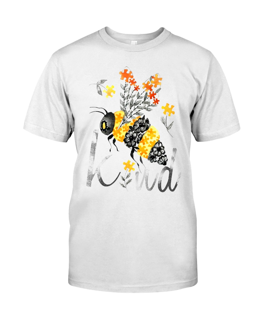 BEE KIND FLORAL BEE Classic T-Shirt