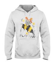 BEE KIND FLORAL BEE Hooded Sweatshirt thumbnail