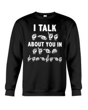 Funny ASL Crewneck Sweatshirt thumbnail