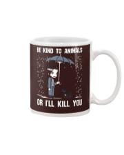 JW Be Kind To Animal Or I'll Kill You Mug thumbnail