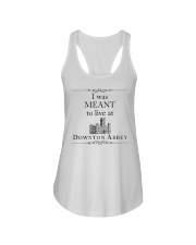 I WAS MEANT TO LIVE AT DOWNTON ABBEY Ladies Flowy Tank thumbnail