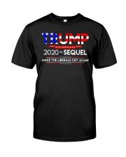 TRUMP 2020 THE SEQUEL Premium Fit Mens Tee front