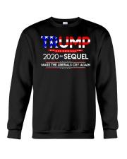 TRUMP 2020 THE SEQUEL Crewneck Sweatshirt thumbnail
