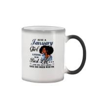 January Girl Living Her Best Life Color Changing Mug thumbnail