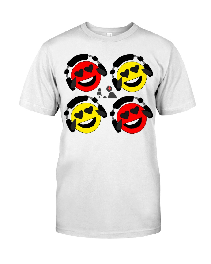The Laffin Smoily Premium Fit Mens Tee