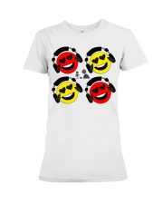 The Laffin Smoily Premium Fit Ladies Tee tile