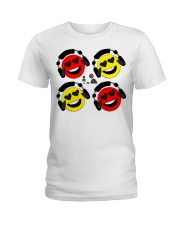 The Laffin Smoily Ladies T-Shirt tile
