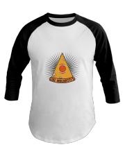 Lou Malnatti's New World Order Pizza Baseball Tee thumbnail