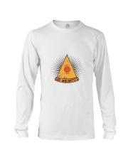 Lou Malnatti's New World Order Pizza Long Sleeve Tee thumbnail