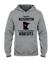 LIVE IN WASHINGTON BUT BELONG TO MINNESOTA Hooded Sweatshirt thumbnail