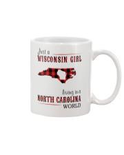 JUST A WISCONSIN GIRL IN A NORTH CAROLINA WORLD Mug thumbnail