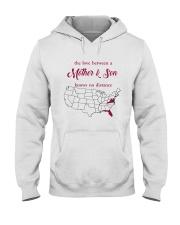 FLORIDA VIRGINIA THE LOVE MOTHER AND SON Hooded Sweatshirt thumbnail