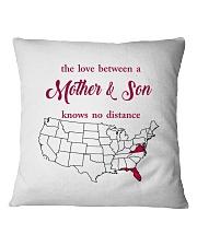 FLORIDA VIRGINIA THE LOVE MOTHER AND SON Square Pillowcase thumbnail