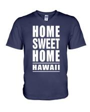 HOME SWEET HOME HAWAII V-Neck T-Shirt thumbnail