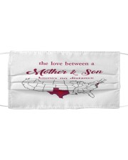 TEXAS NEW JERSEY THE LOVE MOTHER AND SON Cloth face mask thumbnail