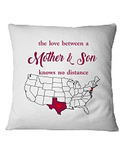 TEXAS NEW JERSEY THE LOVE MOTHER AND SON Square Pillowcase thumbnail