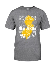 YOU CAN'T TAKE NEW JERSEY OUT OF THE GIRL Classic T-Shirt thumbnail
