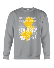 YOU CAN'T TAKE NEW JERSEY OUT OF THE GIRL Crewneck Sweatshirt thumbnail