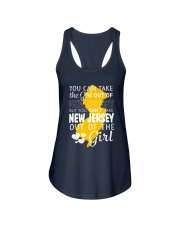 YOU CAN'T TAKE NEW JERSEY OUT OF THE GIRL Ladies Flowy Tank thumbnail