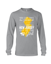 YOU CAN'T TAKE NEW JERSEY OUT OF THE GIRL Long Sleeve Tee thumbnail