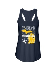 YOU CAN'T TAKE MICHIGAN OUT OF THE GIRL Ladies Flowy Tank thumbnail