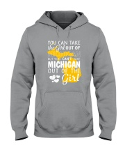 YOU CAN'T TAKE MICHIGAN OUT OF THE GIRL Hooded Sweatshirt thumbnail