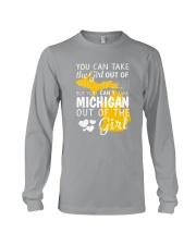 YOU CAN'T TAKE MICHIGAN OUT OF THE GIRL Long Sleeve Tee thumbnail