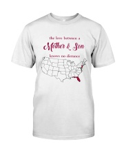 FLORIDA NEW JERSEY THE LOVE MOTHER AND SON Classic T-Shirt thumbnail