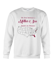FLORIDA NEW JERSEY THE LOVE MOTHER AND SON Crewneck Sweatshirt thumbnail