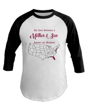 FLORIDA NEW JERSEY THE LOVE MOTHER AND SON Baseball Tee thumbnail