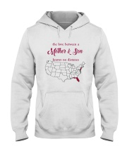 FLORIDA NEW JERSEY THE LOVE MOTHER AND SON Hooded Sweatshirt thumbnail