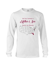 FLORIDA NEW JERSEY THE LOVE MOTHER AND SON Long Sleeve Tee thumbnail