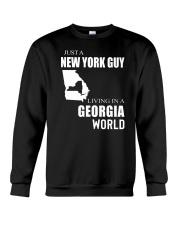 JUST A NEW YORK GUY IN A GEORGIA WORLD Crewneck Sweatshirt thumbnail