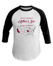 MISSOURI CALIFORNIA THE LOVE MOTHER AND SON Baseball Tee tile