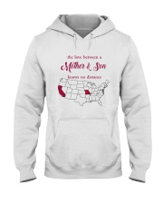 MISSOURI CALIFORNIA THE LOVE MOTHER AND SON Hooded Sweatshirt tile