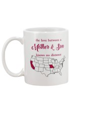 MISSOURI CALIFORNIA THE LOVE MOTHER AND SON Mug back