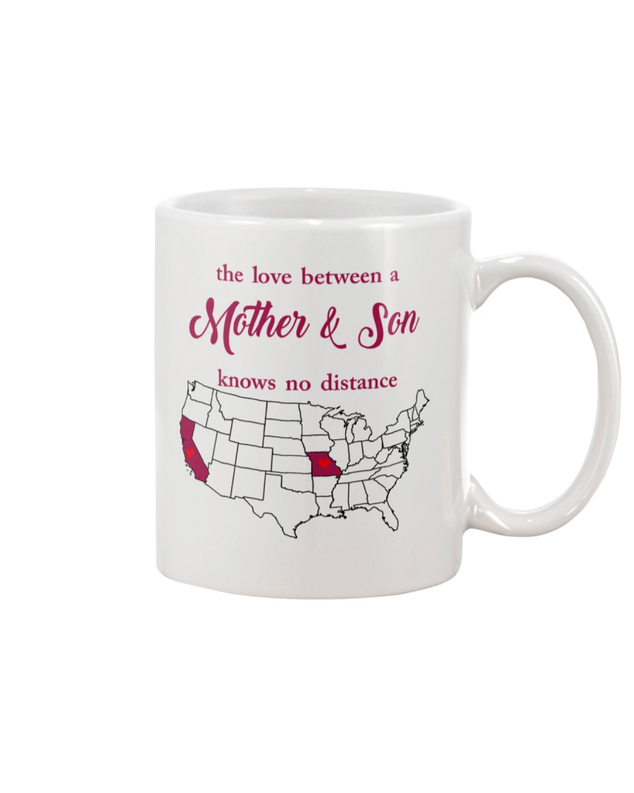 MISSOURI CALIFORNIA THE LOVE MOTHER AND SON Mug