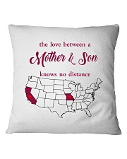 MISSOURI CALIFORNIA THE LOVE MOTHER AND SON Square Pillowcase tile