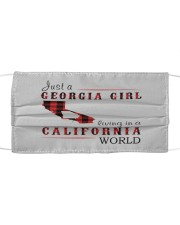 JUST A GEORGIA GIRL IN A CALIFORNIA WORLD Mask tile