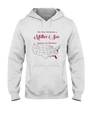 FLORIDA MARYLAND THE LOVE MOTHER AND SON Hooded Sweatshirt thumbnail