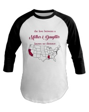 CALIFORNIA MISSISSIPPI - MOTHER AND DAUGHTER Baseball Tee tile