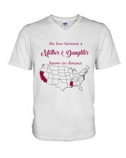 CALIFORNIA MISSISSIPPI - MOTHER AND DAUGHTER V-Neck T-Shirt thumbnail