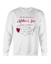 CALIFORNIA NEVADA THE LOVE MOTHER AND SON Crewneck Sweatshirt thumbnail
