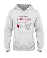 CALIFORNIA NEVADA THE LOVE MOTHER AND SON Hooded Sweatshirt thumbnail