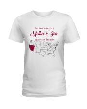 CALIFORNIA NEVADA THE LOVE MOTHER AND SON Ladies T-Shirt thumbnail